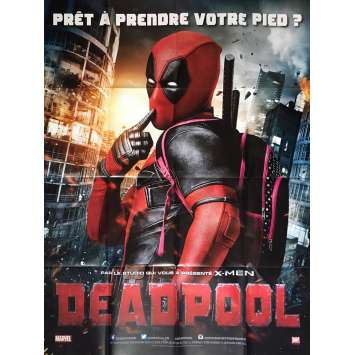 DEADPOOL Affiche de film 120x160 cm - 2016 - Ryan Reynolds, Tim Miller