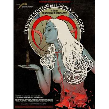 L'ETRANGE COULEUR DES LARMES DE TON CORPS Affiche de film 40x60 cm - 2013 - Klaus Tange, Hélène Cattet, Bruno Forzani