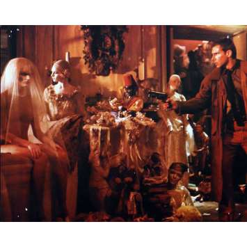 BLADE RUNNER color 8x10 still N3 '82 Sean Young + Harrison Ford with Daryl Hannah!
