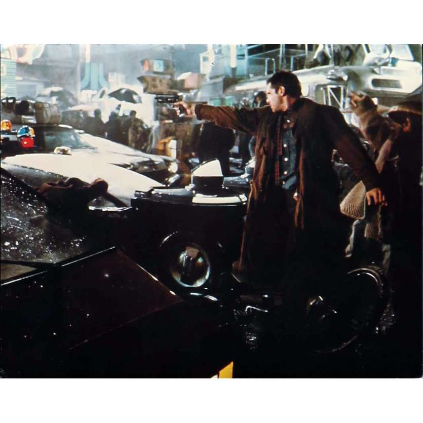 BLADE RUNNER color 8x10 still N4 '82 Sean Young + Harrison Ford with Daryl Hannah!