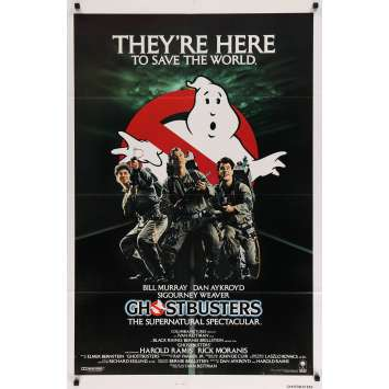 GHOSTBUSTERS Affiche de cinéma Originale 1sh US - 1984 - Bill Murray