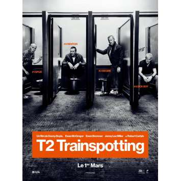 T2 TRAINSPOTTING Movie Poster Prev. 15x21 in. - 2017 - Danny Boyle, Ewan McGregor