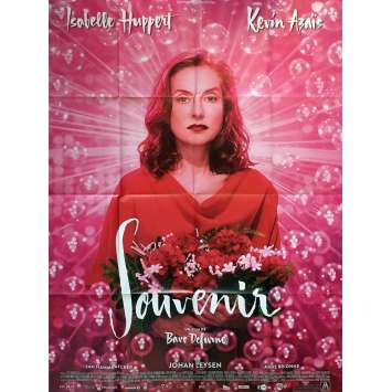 SOUVENIR Movie Poster 47x63 in. - 2016 - Bavo Defurne, Isabelle Huppert