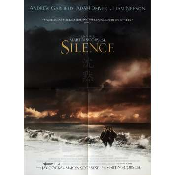 SILENCE Affiche de film 40x60 cm - 2017 - Andrew Garfield, Martin Scorsese