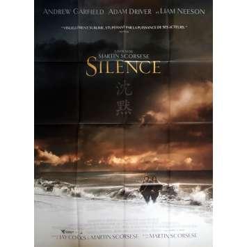 SILENCE Affiche de film 120x160 cm - 2017 - Andrew Garfield, Martin Scorsese
