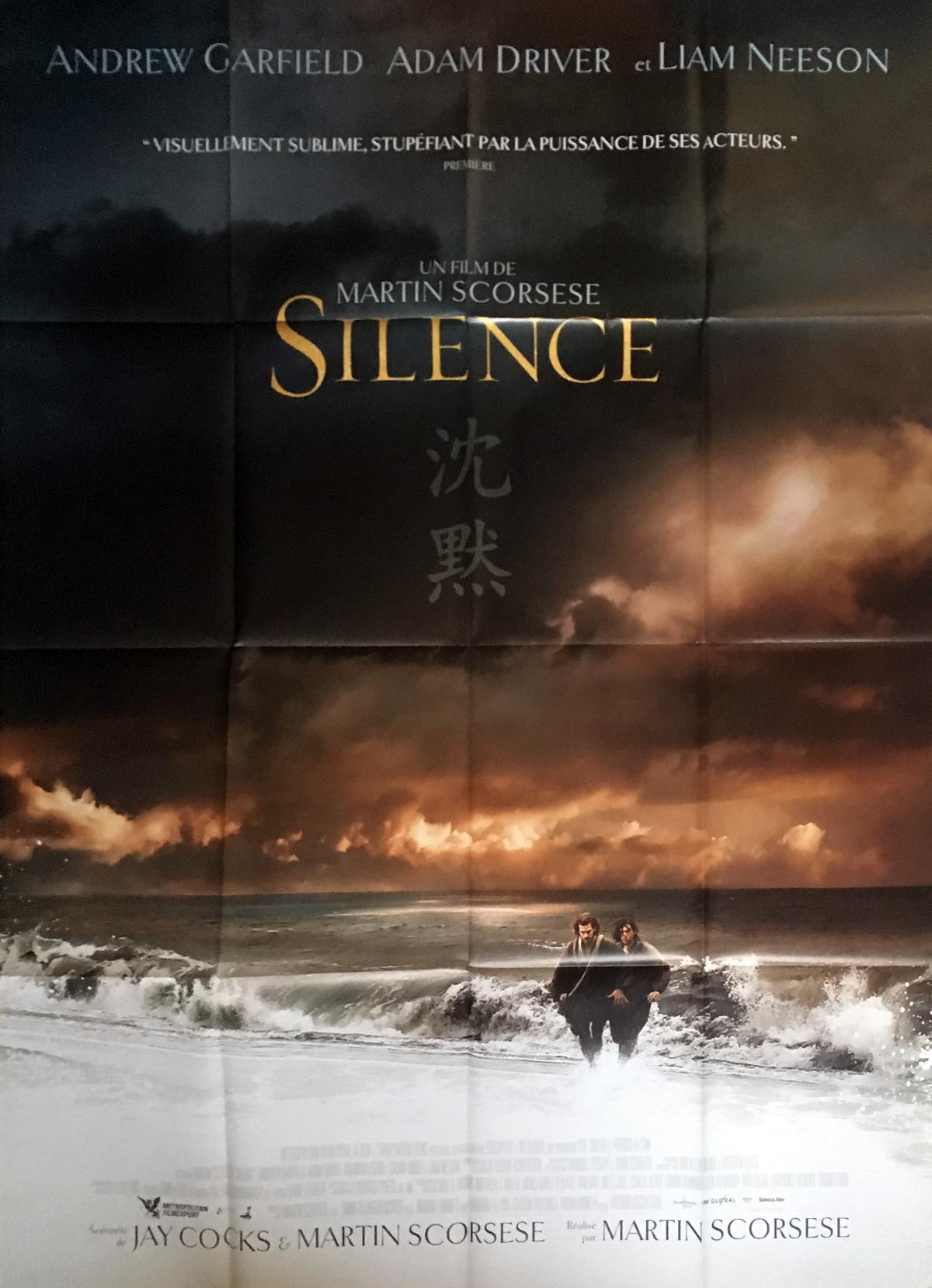 Risultati immagini per silence film poster