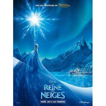 LA REINE DES NEIGES Affiche de film Prev. 40x60 cm - 2013 - Kristen Bell, Walt Disney