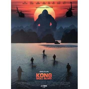 KONG SKULL ISLAND Movie Poster 15x21 in. - 2017 - Jordan Vogt-Roberts, Samuel L. Jackson