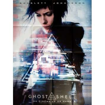 GHOST IN THE SHELL Affiche de film Prev. 120x160 cm - 2017 - Scarlett Johansson, Rupert Sanders