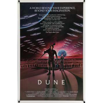 DUNE Movie Poster 84 David Lynch sci-fi epic, Kyle MacLachlan