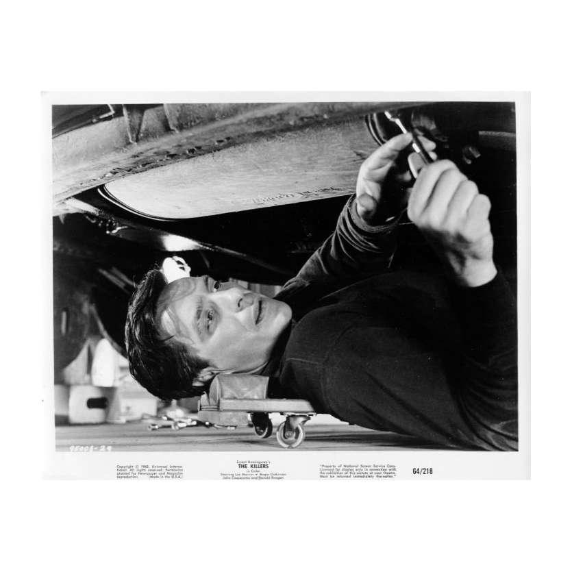 A BOUT PORTANT Photo de presse 20x25 cm - 1964 - John Cassavetes, Don Siegel