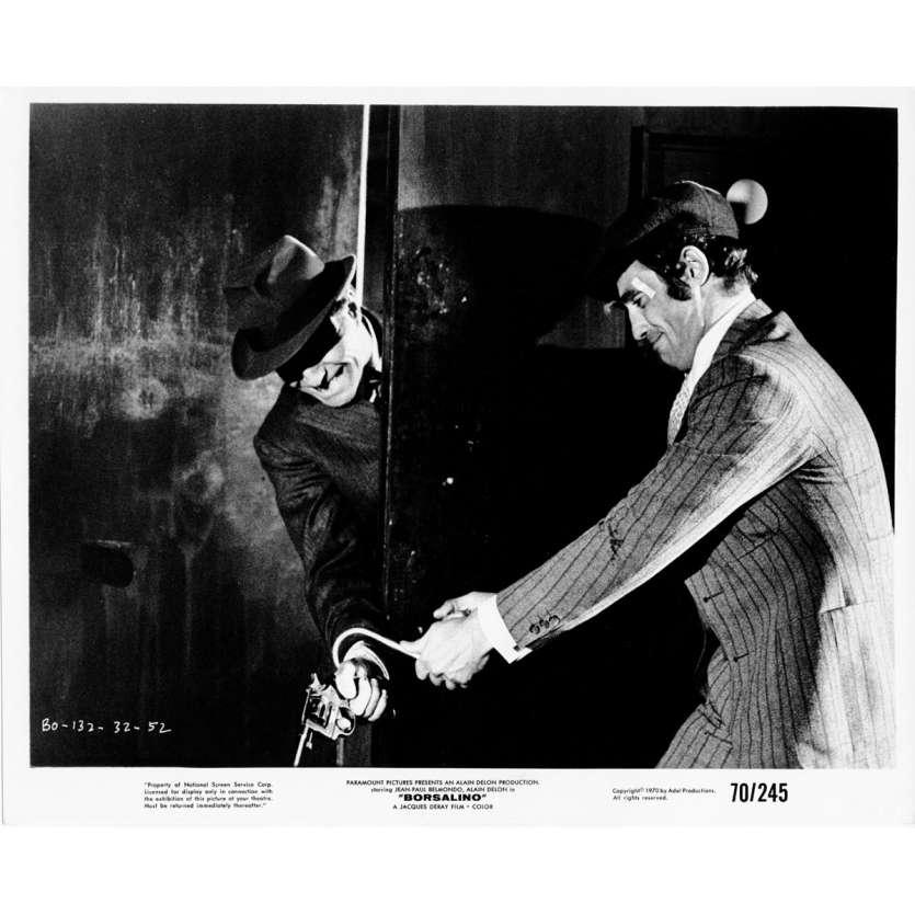 BORSALINO Photo de presse N02 20x25 cm - 1970 - Jean-Paul Belmondo, Alain Delon