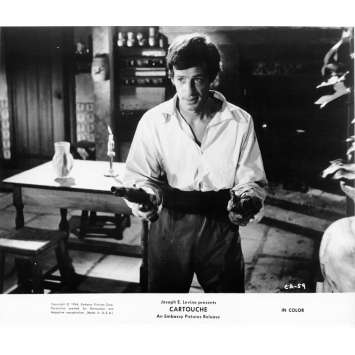 CARTOUCHE Photo de presse N02 20x25 cm - 1962 - Jean-Paul Belmondo, Philippe de Broca