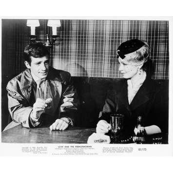 LA FRANÇAISE ET L'AMOUR Photo de presse 20x25 cm - 1960 - Jean-Paul Belmondo, Michel Boisrond