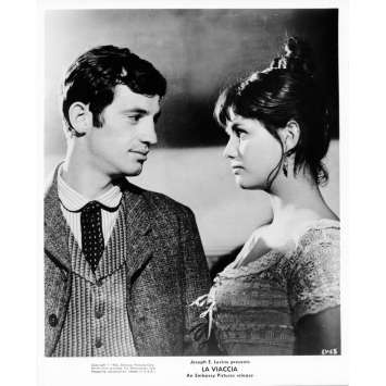 LA VIACCIA Movie Still 8x10 in. - 1961 - Mauro Bolognoni, Jean-Paul Belmondo