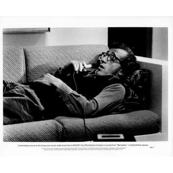 MANHATTAN Photo de presse N14 20x25 cm - 1979 - Diane Keaton, Woody Allen