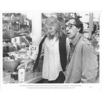 MANHATTAN Photo de presse N08 20x25 cm - 1979 - Diane Keaton, Woody Allen