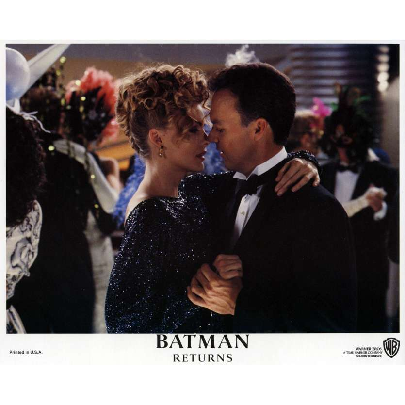 BATMAN RETURNS Lobby Card N03 8x10 in. - 1992 - Tim Burton, Michael Keaton