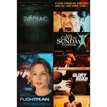 THRILLERS - Original 1sh Movie Poster Lot of 4 - 27x40 in. - 90s-00s