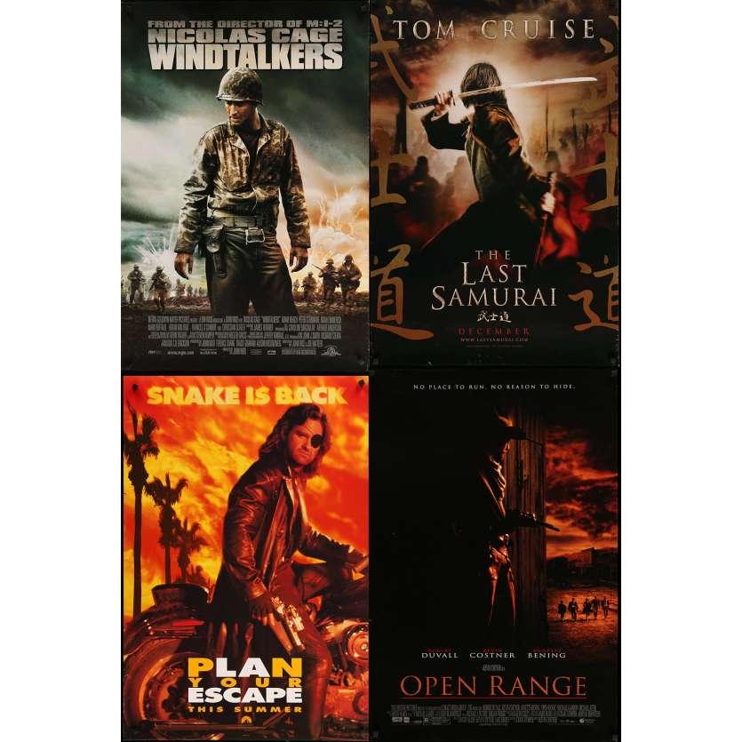 AVENTURES 2 - Lot de 4 affiches Cinéma Américaines Originales - los angeles 2013…