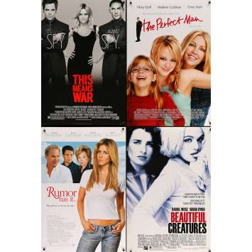 ROMANCE - Original 1sh Movie Poster Lot of 5 - 27x40 in. - 90s-00s