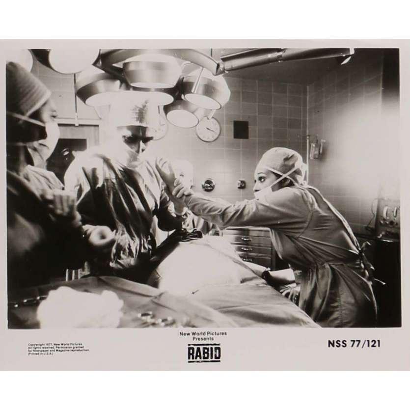 RAGE Photo de presse N4 20x25 - 1977 - Marilyn Chambers, David Cronenberg