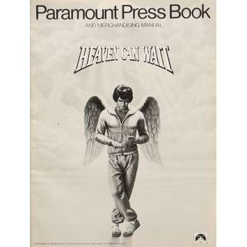 LE CIEL PEUT ATTENDRE Dossier de presse 21x30 cm - 1978 - Julie Christie, Warren Beatty
