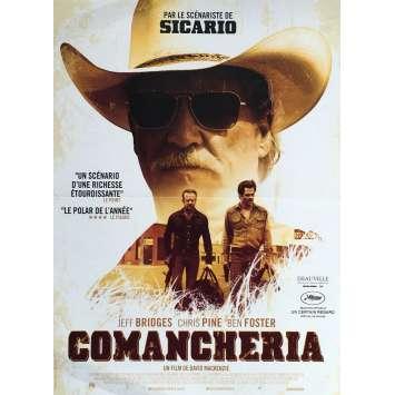 COMANCHERIA Affiche de film 40x60 cm - Oscars 2017 - Jeff Bridges, David Mackenzie