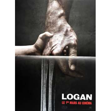 LOGAN Affiche de film 40x60 cm - 2017 - Hugh Jackman, James Mangold