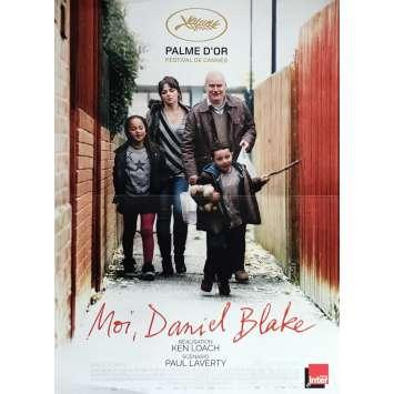 MOI DANIEL BLAKE Affiche de film 40x60 cm - 2016 - Dave Johns, Ken Loach