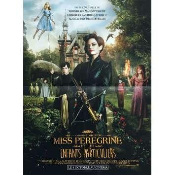 MISS PEREGRINE Affiche de film 40x60 cm - 2016 - Eva Green, Tim Burton