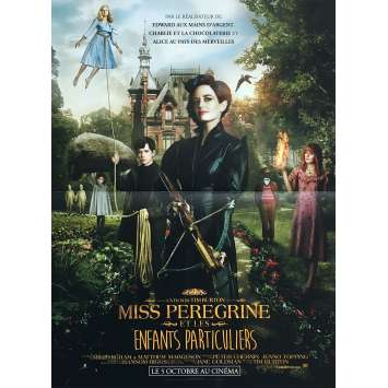 MISS PEREGRINE Movie Poster 15x21 in. - 2016 - Tim Burton, Eva Green