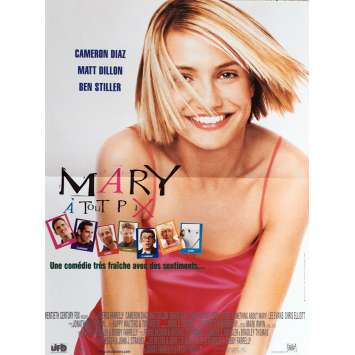 ALL ABOUT MARY Movie Poster 15x21 in. - 1998 - Bobby Farelly, Cameron Diaz