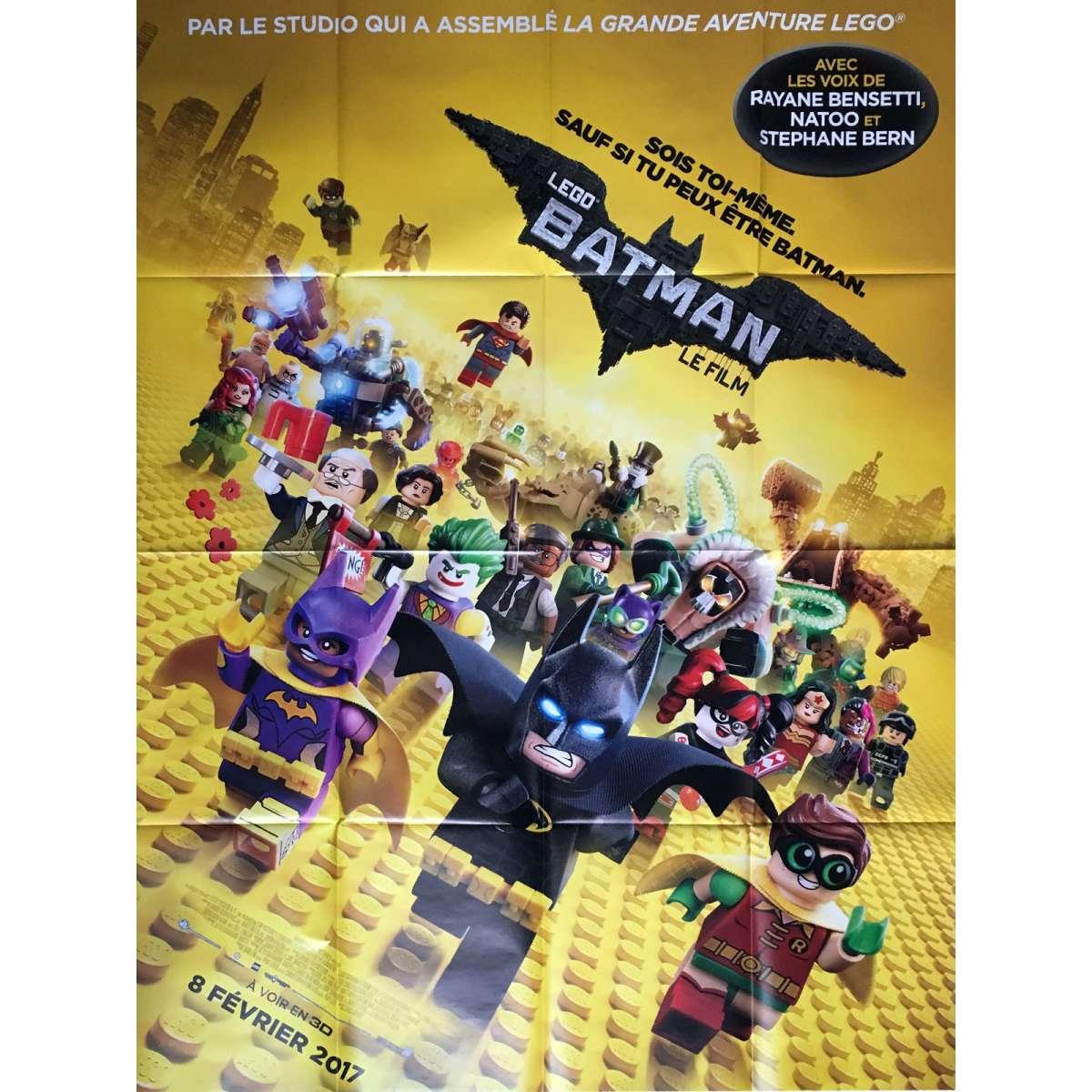 THE LEGO BATMAN MOVIE Movie Poster 47x63 In