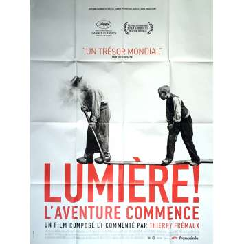 LUMIERE ! L'AVENTURE COMMENCE Movie Poster 47x63 in. - Def. 2017 - Thierry Fremaux, Lumiere Brothers