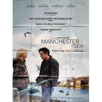MANCHESTER BY THE SEA Affiche de film 120x160 cm - Oscars 2017 - Casey Affeck, Kenneth Lonergan