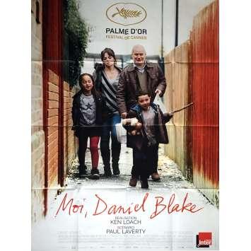 MOI DANIEL BLAKE Affiche de film 120x160 cm - 2016 - Dave Johns, Ken Loach