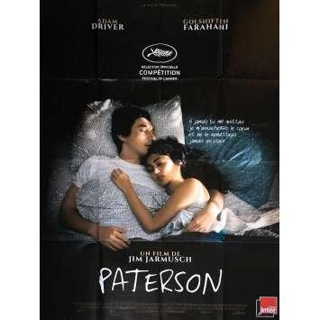 PATERSON Affiche de film 120x160 cm - Oscars 2017 - Adam Driver, Jim Jarmusch