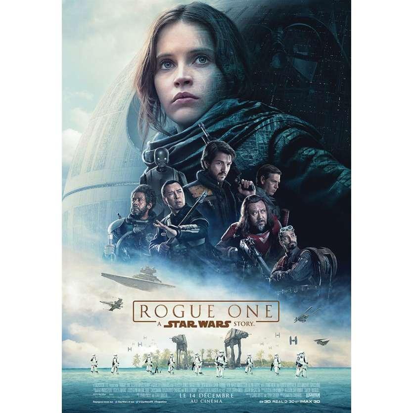 STAR WARS ROGUE ONE Affiche de film 40x60 cm - 2016 - Felicity Jones, Gareth Edwards