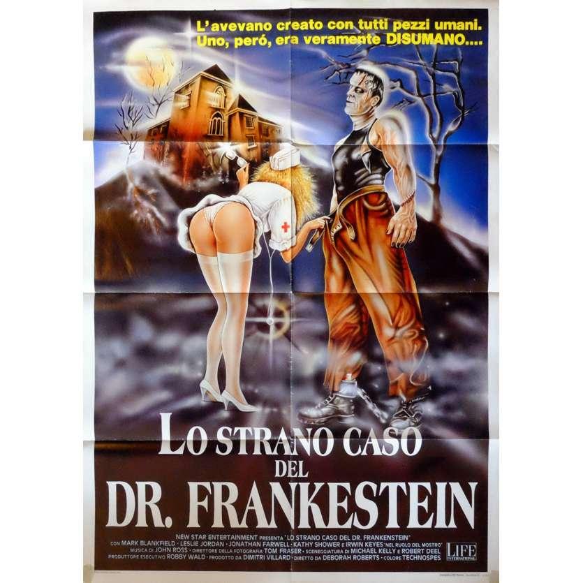 FRANKENSTEIN GENERAL HOSPITAL Affiche de film 100x140 - 1988 - Mark Blankfield, Deborah Romare