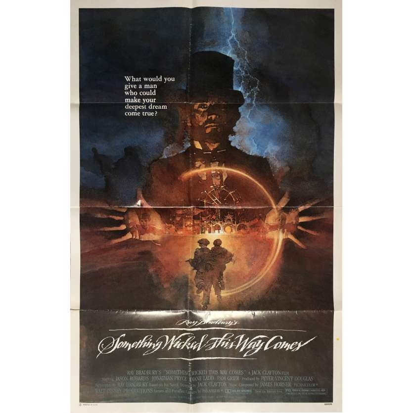 SOMETHING WICKED THIS WAY COMES Movie Poster - Ray Bradbury
