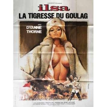 ILSA LA TIGRESSE DU GOULAG Affiche FR 120x160 Movie Poster nazixploitation