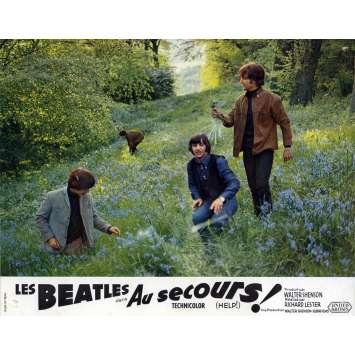 HELP Lobby Card 9x12 in. - N01 1965 - Richard Lester, The Beatles