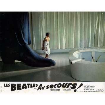 HELP Lobby Card 9x12 in. - N02 1965 - Richard Lester, The Beatles