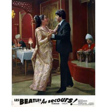 HELP Lobby Card 9x12 in. - N03 1965 - Richard Lester, The Beatles