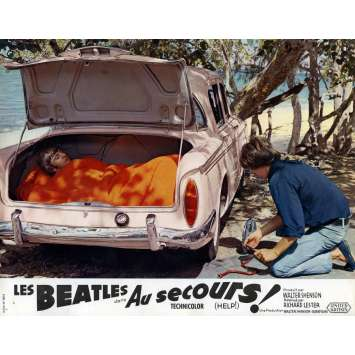 HELP Lobby Card 9x12 in. - N06 1965 - Richard Lester, The Beatles