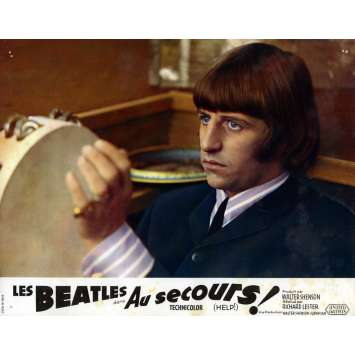 HELP Lobby Card 9x12 in. - N08 1965 - Richard Lester, The Beatles