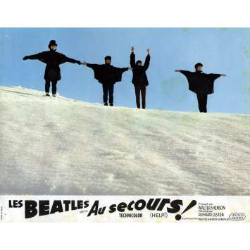 HELP Lobby Card 9x12 in. - N09 1965 - Richard Lester, The Beatles