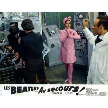 HELP Lobby Card 9x12 in. - N10 1965 - Richard Lester, The Beatles
