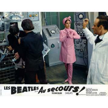 HELP Photo de film 21x30 cm - N10 1965 - The Beatles, Richard Lester